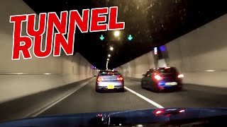 Modified Car Tunnel Run - LOUD Sounds and Accelerations!