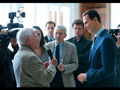 Bashar al-Assad interviewed by European media: embargo, refugees, Israel (2017.03.13)