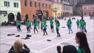Flash Mob Brasov - Piata Sfatului 2015