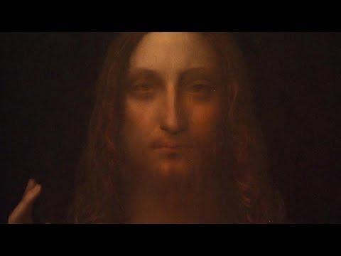 "Salvator Mundi Sale >> Leonardo Da Vinci's ""Salvador Mundi"" painting up for sale - YouTube"