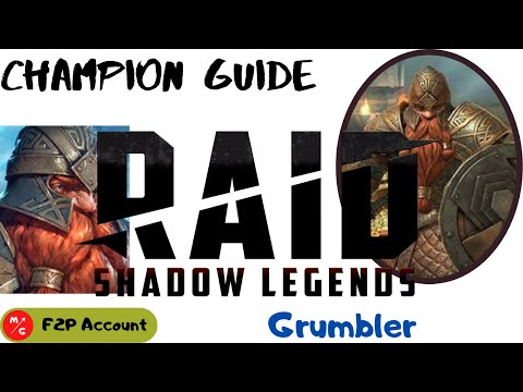[F2P] | Grumbler Raid Shadow Legends | Champion Guide | Dwarf Tank