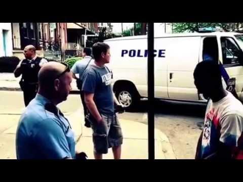 Black man harassed by Police in Philadelphia