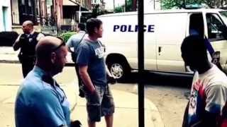 Black Man With Clean Record Harassed by 10 Philadelphia KKKCops