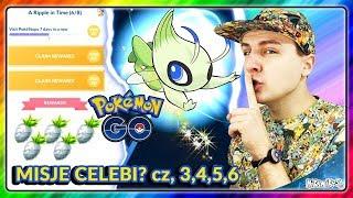 MISJA Z CELEBI CZĘŚĆ 3,4,5 i 6 - Pokemon GO PL #LICZBA