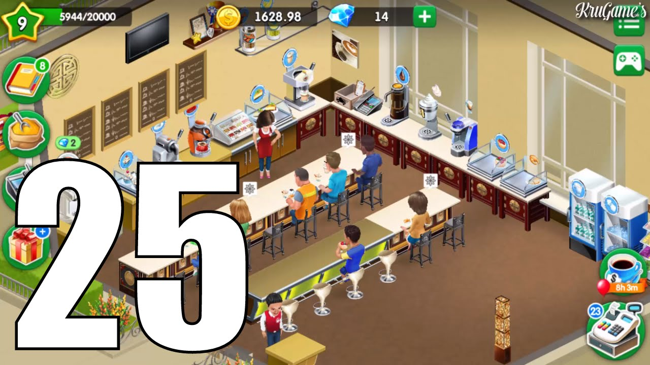 my cafe recipes stories android gameplay 25 level 9 youtube. Black Bedroom Furniture Sets. Home Design Ideas