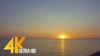 Sunset over the Lake, Ukraine - Natural Wonders in 4K/Ultra HD - Nature Relax Video Preview