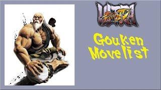 Ultra Street Fighter IV - Gouken Move List