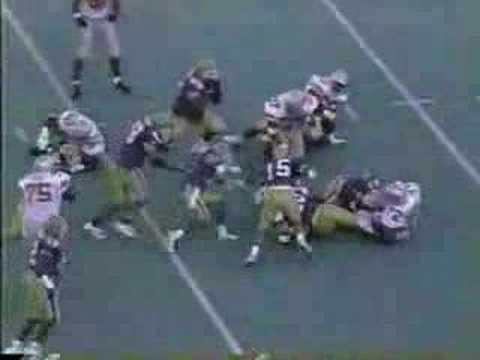 Terry Glenn 61yd TD catch - Pitt 1995