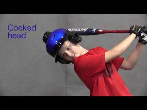 The 2 Head Positions Batting Helmet Promo Video (The 1st Ever Electronic Batting Helmet)