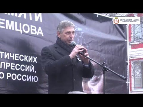 И Н Карнилин на шествии памяти Немцова 27 2 16