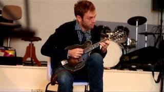 Download lagu Chris Thile with his Lloyd Loar mandolin MP3