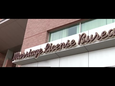 Las Vegas Marriage License Bureau reopening