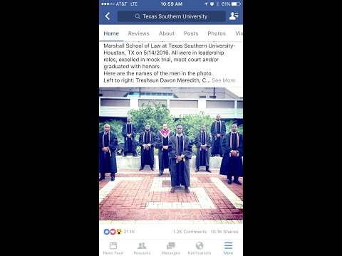 Young African American Attorney Picture Went Viral!