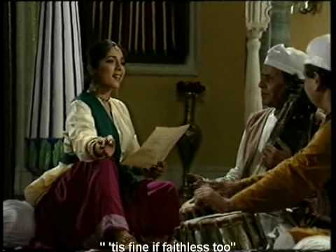 Mirza Ghalib's 'Dil hi to hai' sung by Chitra Singh