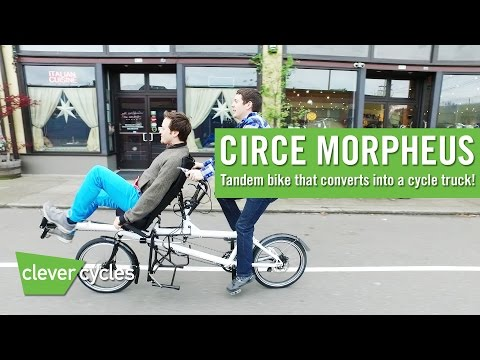 Circe Morpheus Tandem/Cargo Bike - Clever Cycles