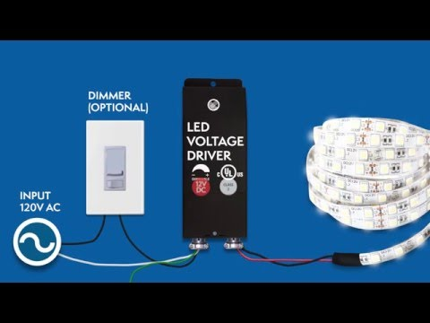 12vdc dimmable led driver installation magnitude\u0027s e series ul12vdc dimmable led driver installation magnitude\u0027s e series ul listed youtube