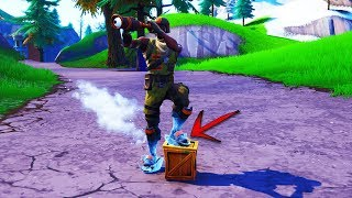 SLIDE FOREVER with this NEW GLITCH in FORTNITE Season 8! (Fortnite Season 8 Glitch)