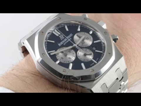Pre-Owned Audemars Piguet Royal Oak Chronograph 26331ST.OO.01 Luxury Watch Review