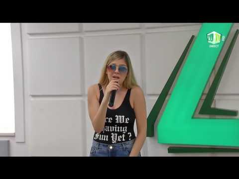 Arilena Ara canta ''Nentori'' (english version) in premiera la Radio ZU