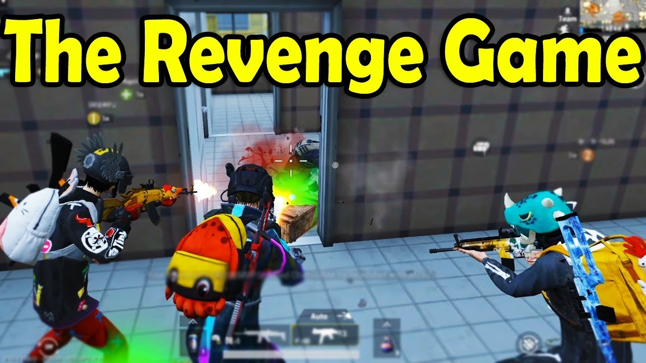 The Revenge Game in PUBG Mobile - Watch the END