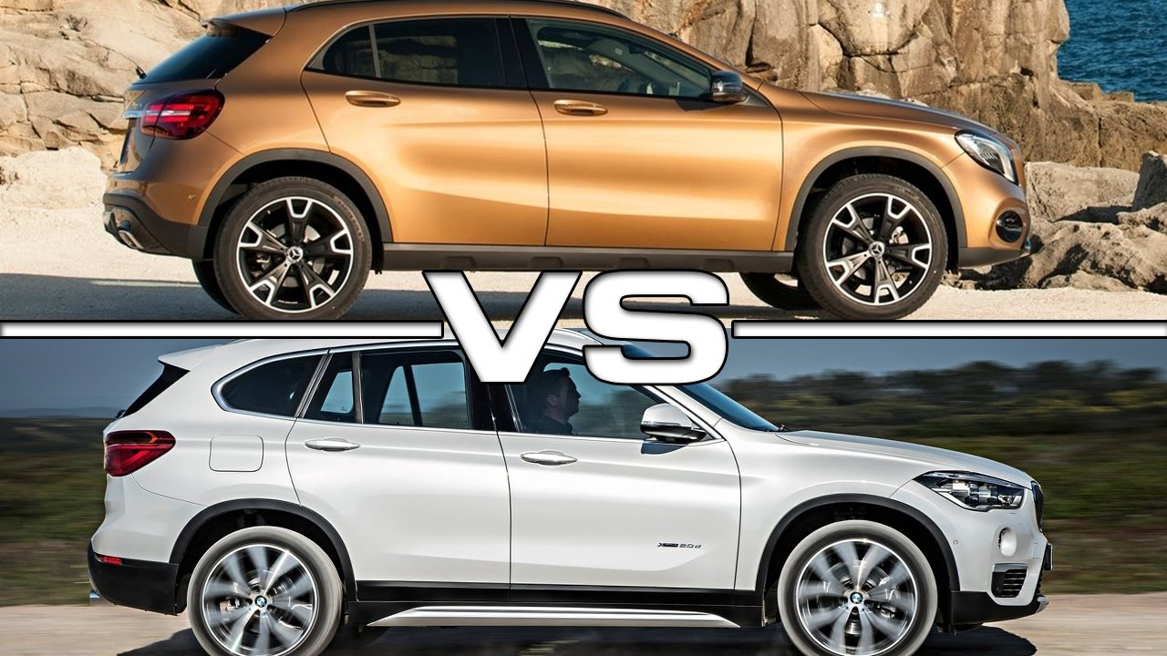 2017 Mercedes Gla Cl Vs 2016 Bmw X1