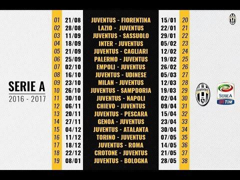 Calendario Iuve.Calendario Juventus 16 17 Inizio Impegnativo Meglio Cosi