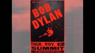 Bob Dylan - Houston 12 november 1981 -  SOUNDBOARD
