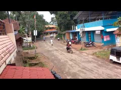 A Typical Kerala Village Street | Indian Village | Rural India Life