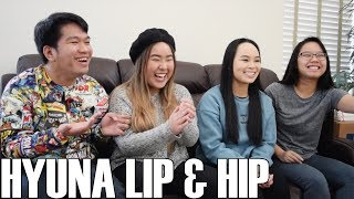 HyunA (현아) - Lip & Hip (Reaction Video)