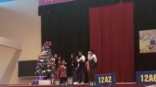 Christmas And New Year At Vinh Tuong Hight School