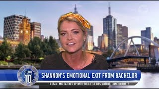 Shannon Looks Back On Emotional 'Bachelor' Farewell   Studio 10