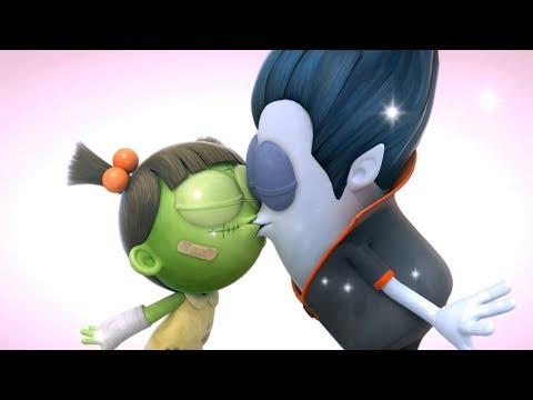 Funny Animated Cartoon   Spookiz   Sealed with a Kiss 💋   스푸키즈   Cartoon For Children thumbnail