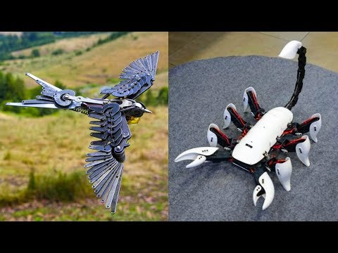 5 AMAZING ROBOTIC ANIMALS INVENTION ▶ Flying Robot Bird & Insect