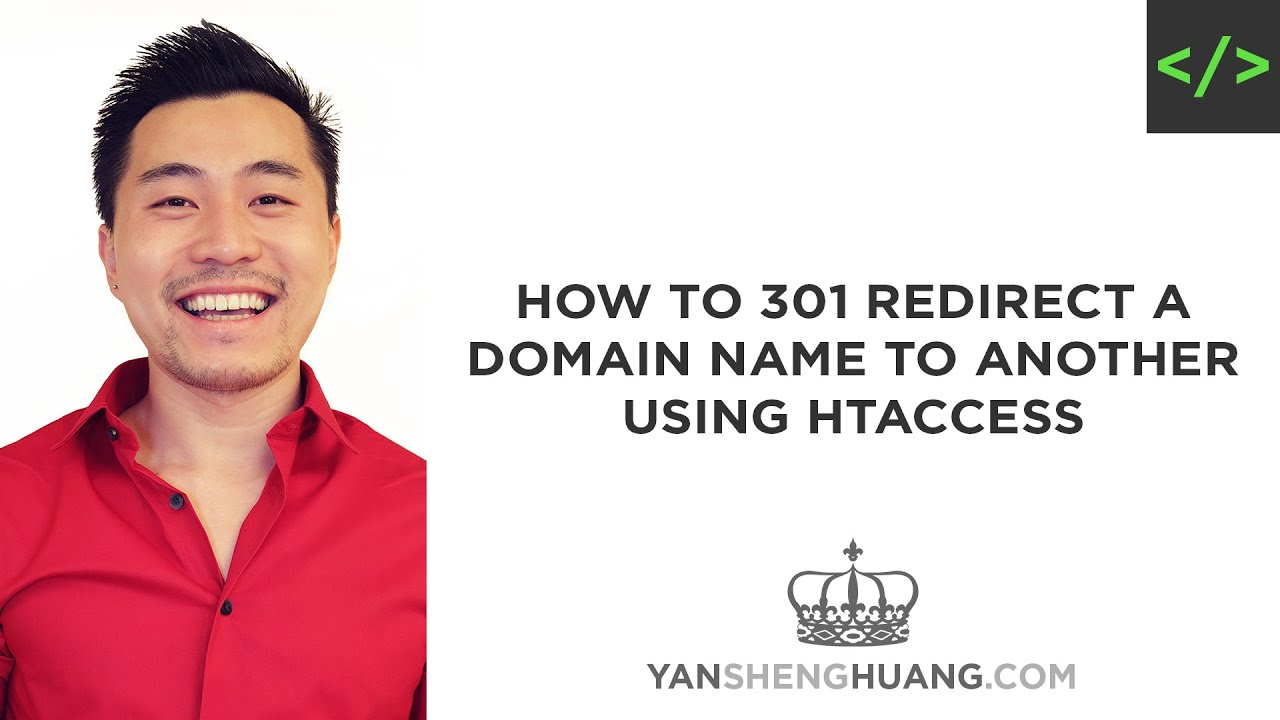 htaccess 301 redirect tutorial