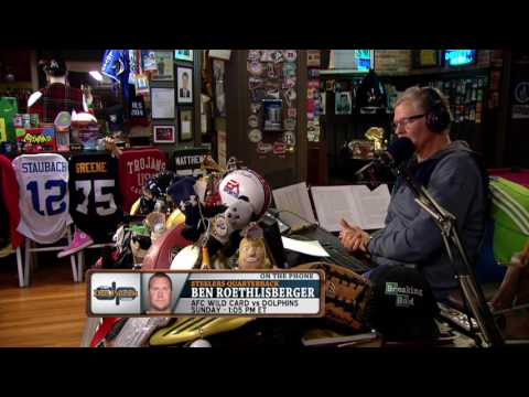 Ben Roethlisberger on The Dan Patrick Show (Full Interview) 1/4/17