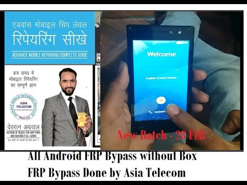 All Android FRP Bypass without Box |  FRP Bypass Done by Asia Telecom |
