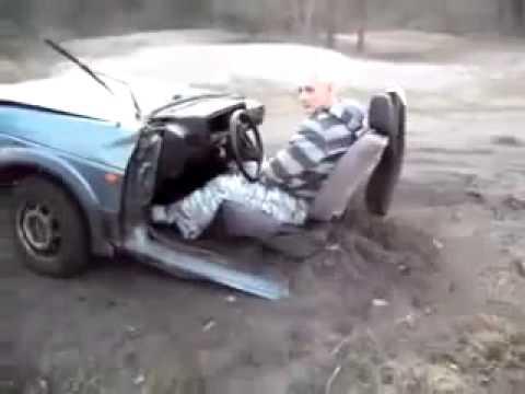 Polish Driving Half Car
