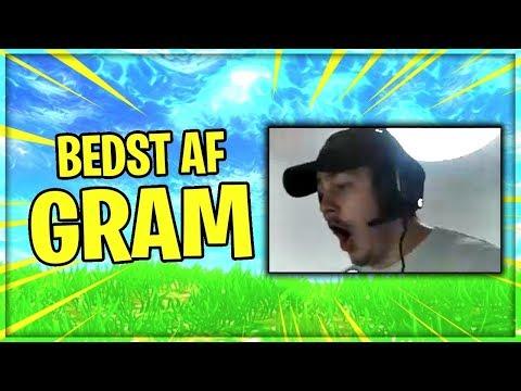 DANMARKS BEDSTE FORTNITE SPILLER! | BEDST AF GRAM