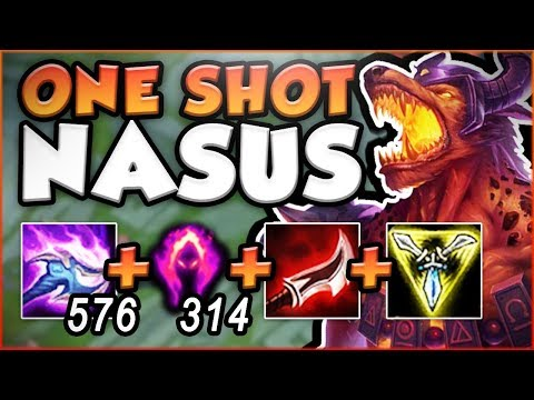 Download Youtube: ONE Q = ONE KILL?? WTF DARK HARVEST NASUS IS SO STUPID! NASUS SEASON 8 GAMEPLAY! - League of Legends