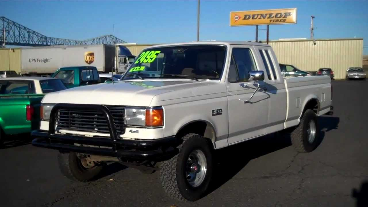 1989 ford f150 sold thank you bonney lake