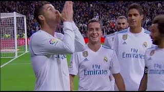 Real Madrid 3-2 Malaga | All Goals | COPE | Liga 2017/2018