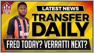 FRED, VERRATTI, WERNER! Manchester United Transfer News