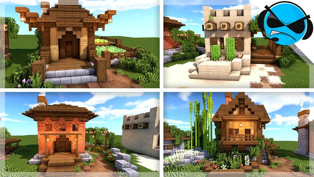 Minecraft: 5 Simple Starter House Designs (Build Tips ...
