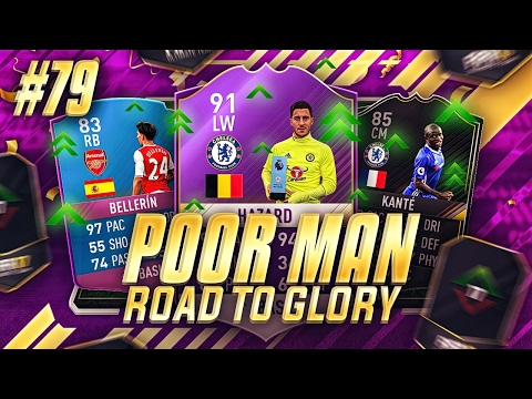 SO MANY OF MY PLAYERS GOT UPGRADED!!! FUT CHAMPIONS 0-20!! - Poor Man RTG #79 - FIFA 17