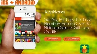 Appnanna | Apps, Riot Points y Dinero Gratis!! (iOS / Android)