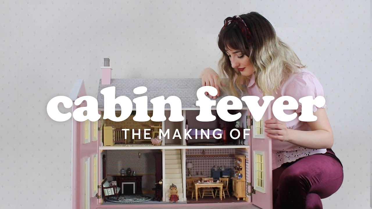 THE MAKING OF CABIN FEVER - KATIE NICHOLAS (LOCKDOWN MUSIC VIDEO)