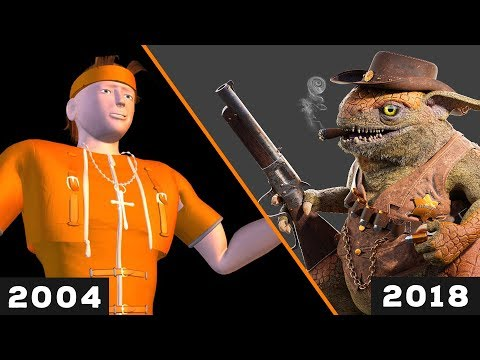 My 3D Art Progress in 14 Years (Blender & Cinema 4D)