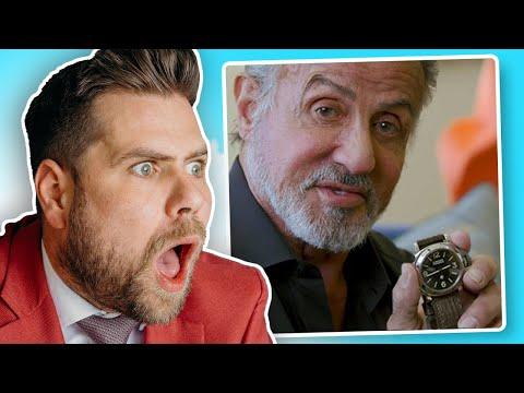 Watch Expert Reacts To Sylvester Stallone's Collection