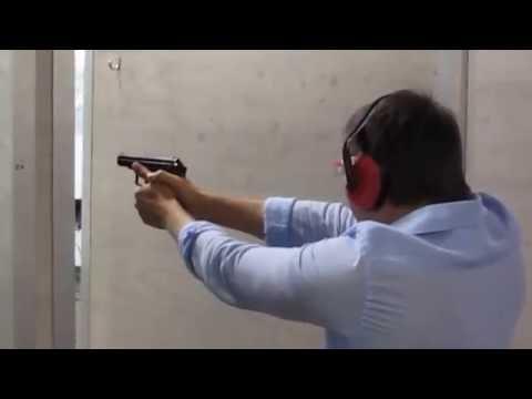 Стрельба из 9 мм пистоле́та Мака́рова ПМ Московский Тир