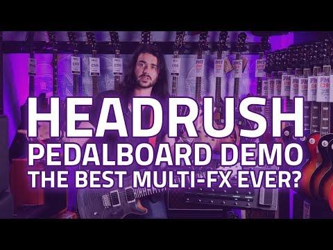 Headrush Pedalboard Multi-FX Processor Review & Demo